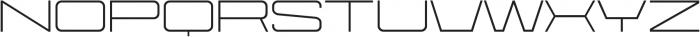 Protrakt Regular-Exp-Three otf (400) Font UPPERCASE