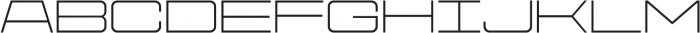 Protrakt Regular-Exp-Three otf (400) Font LOWERCASE