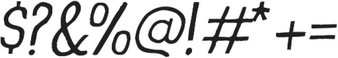 Prova ttf (300) Font OTHER CHARS