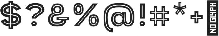 Provoke Inline-Thin otf (100) Font OTHER CHARS