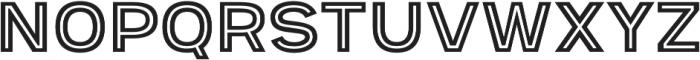 Provoke Inline otf (400) Font UPPERCASE
