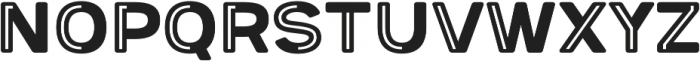 Provoke Partial-Inline-Rounded otf (400) Font UPPERCASE