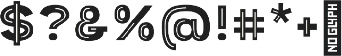 Provoke Partial-Inline-Thin otf (100) Font OTHER CHARS