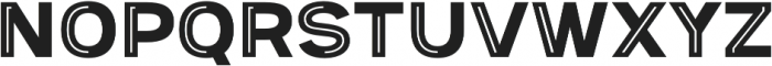 Provoke Partial-Inline-Thin otf (100) Font UPPERCASE
