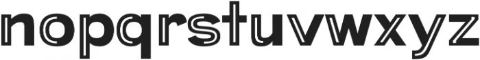 Provoke Partial-Inline otf (400) Font LOWERCASE