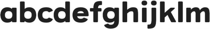 Provoke Regular-Rounded otf (400) Font LOWERCASE