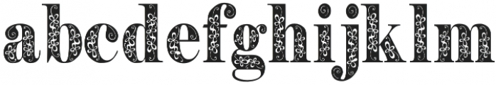 Pryma otf (400) Font LOWERCASE