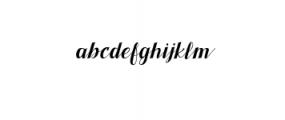 Pratiwi Typeface.ttf Font LOWERCASE