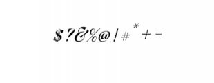 Pratiwi Vintage Typeface.ttf Font OTHER CHARS