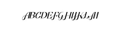 Pratiwi Vintage Typeface.ttf Font UPPERCASE
