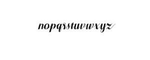 Pratiwi Vintage Typeface.ttf Font LOWERCASE