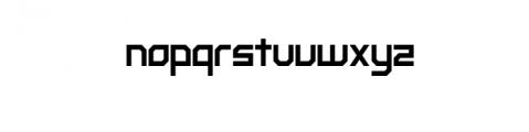 Prestige.otf Font LOWERCASE