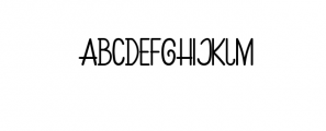 preview hijakers Font UPPERCASE