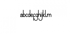 preview hijakers Font LOWERCASE