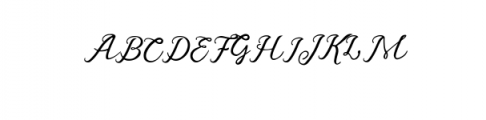 preview1 Font UPPERCASE