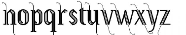 Prevya Adorno Font LOWERCASE