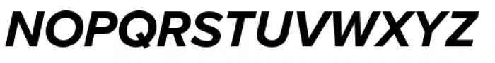 Proxima Nova Bold Italic Font UPPERCASE