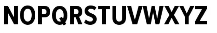 Proxima Nova Condensed Bold Font UPPERCASE