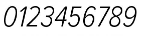 Proxima Nova Condensed Light Italic Font OTHER CHARS