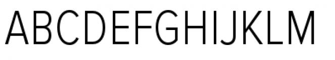 Proxima Nova Condensed Light Font UPPERCASE