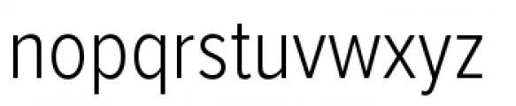 Proxima Nova Condensed Light Font LOWERCASE