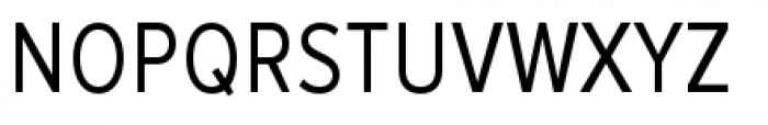 Proxima Nova Condensed Regular Font UPPERCASE
