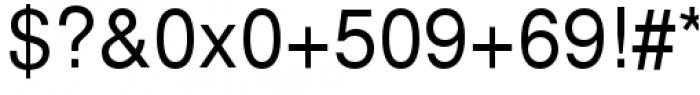 Proxima Nova Condensed Semibold Italic Font OTHER CHARS