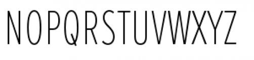 Proxima Nova Extra Condensed Thin Font UPPERCASE