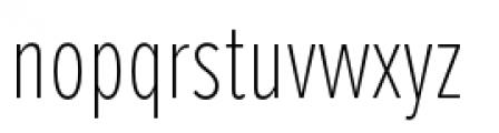 Proxima Nova Extra Condensed Thin Font LOWERCASE