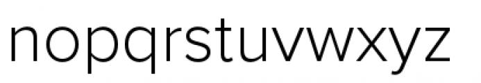 Proxima Nova Light Font LOWERCASE