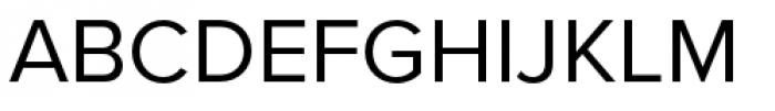 Proxima Nova Regular Font UPPERCASE