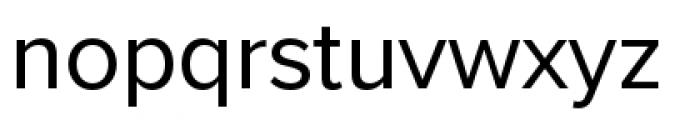 Proxima Nova Regular Font LOWERCASE