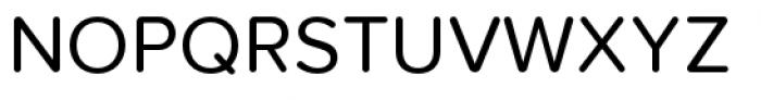 Proxima Nova Soft Regular Font UPPERCASE