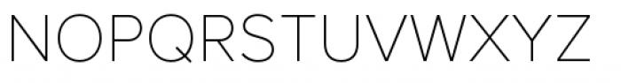 Proxima Nova Thin Font UPPERCASE