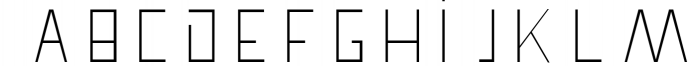 Pronghorn Font Family 1 Font UPPERCASE