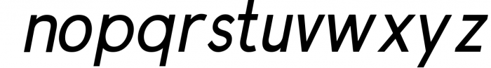 Prontera Sans 2 Font LOWERCASE