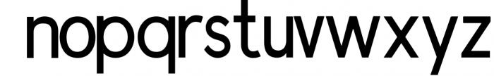 Prontera Sans Font LOWERCASE