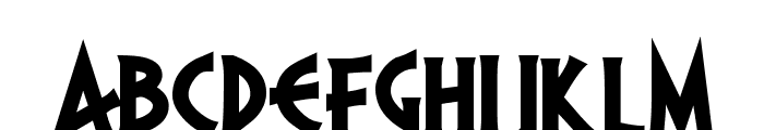PR Agamemnon  Bold, Top Lining Font LOWERCASE