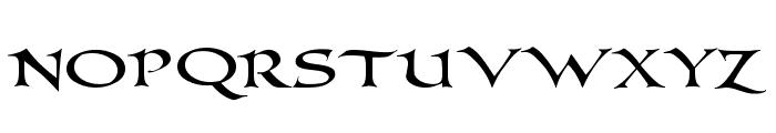 PR-Columban demo Font LOWERCASE