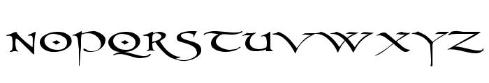 PR Uncial 2003 Font LOWERCASE