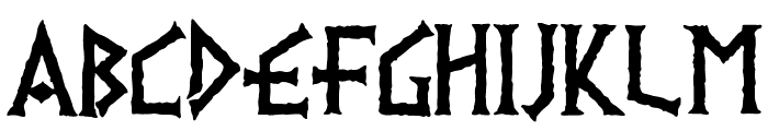 PR Viking 01 Font UPPERCASE