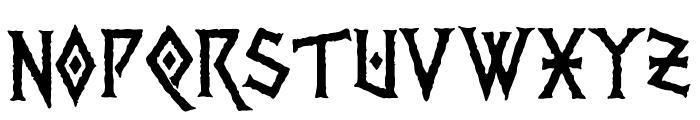 PR Viking 01 Font LOWERCASE