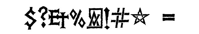 PR Viking Font OTHER CHARS