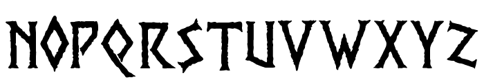 PR Viking Font UPPERCASE