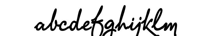 PR8 Charade Font LOWERCASE