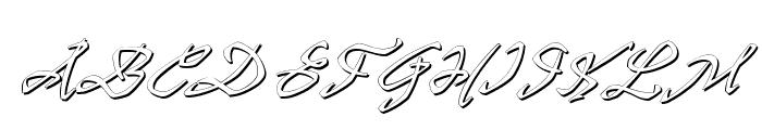 PR8 Shadow Cat Font UPPERCASE