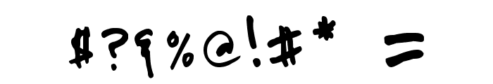 PRIMAHANDWRITE Font OTHER CHARS