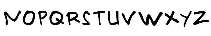 PRIMAHANDWRITE Font UPPERCASE