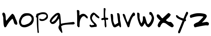PRIMAHANDWRITE Font LOWERCASE