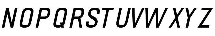 PRIMERA Italic Font UPPERCASE